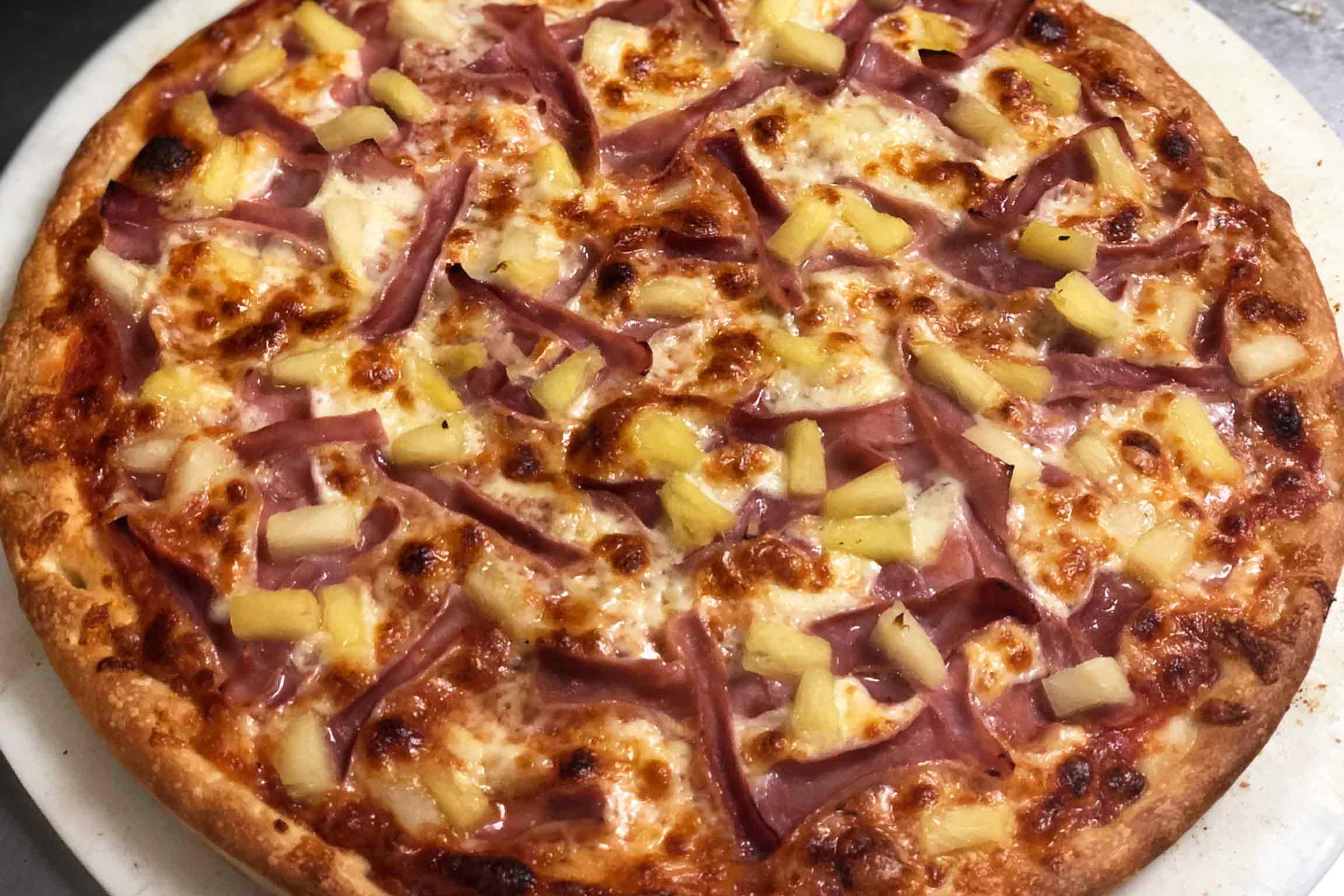 Socrates, Pizza, Hawaiian Pizza