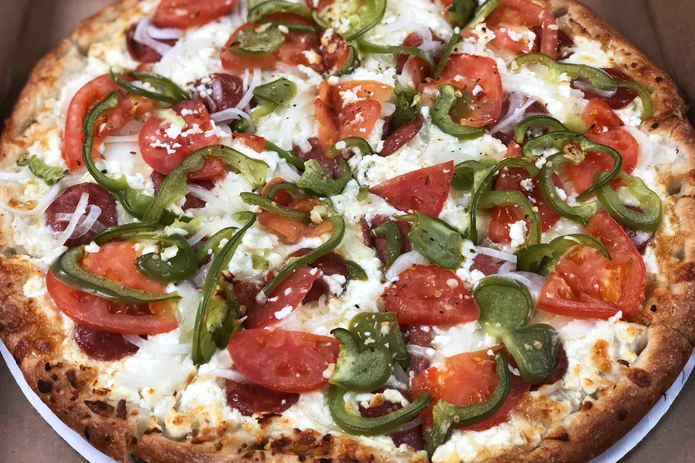 Socrates, Pizza, Old Fashion Pizza